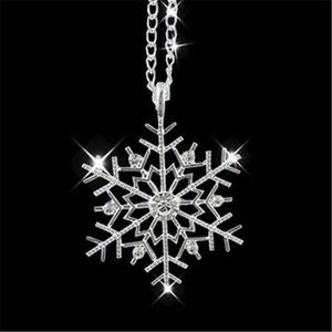 Jewelry - SALE❄️ Snowflake Necklace with 7 diamond crystals